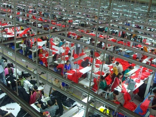 Clothing industry in Bangladesh