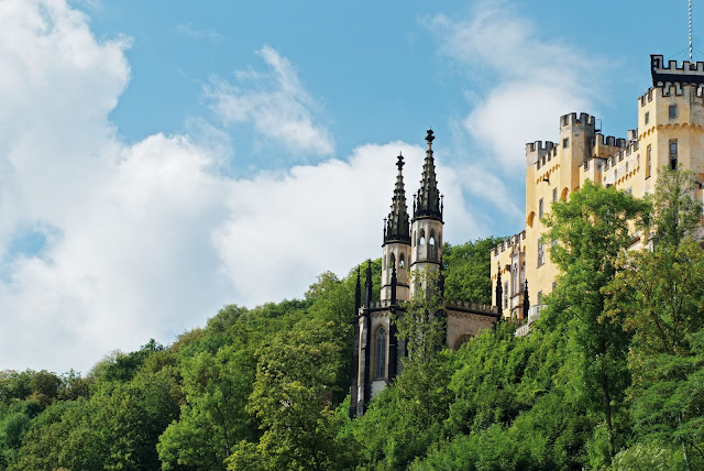 The Stolzenfels Castle in Koblenz, Germany. Photo: © German National Tourist Office. Unauthorized use is prohibited.