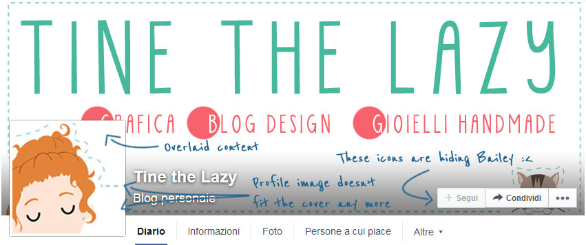 Facebook new layout: Tips + Creative timeline covers