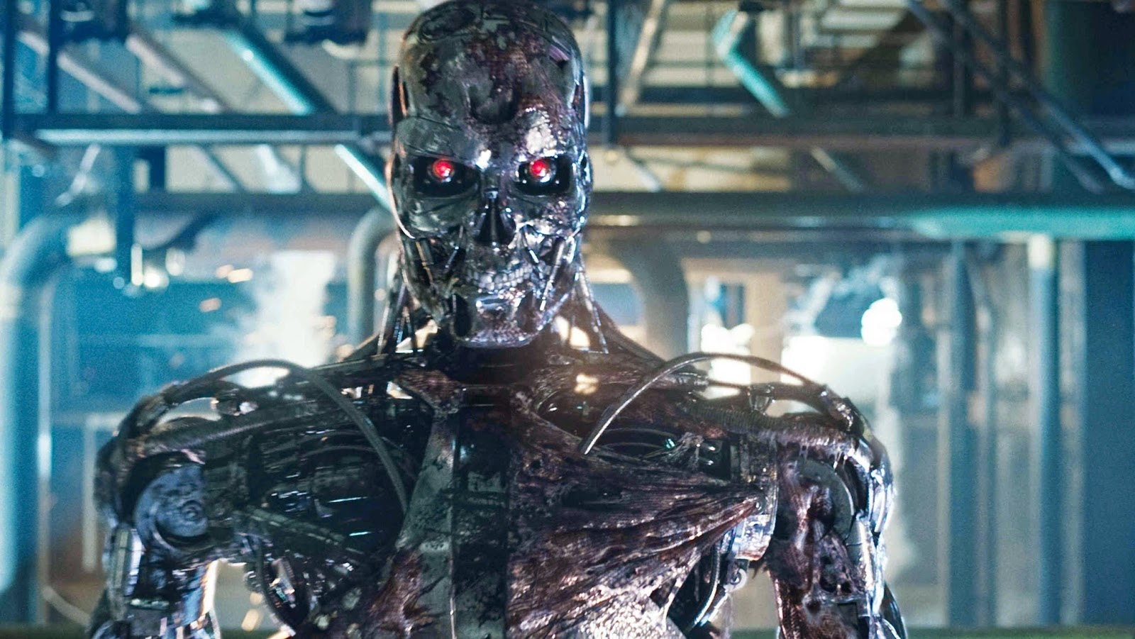 Automation is the future - robots will terminate your jobs ...