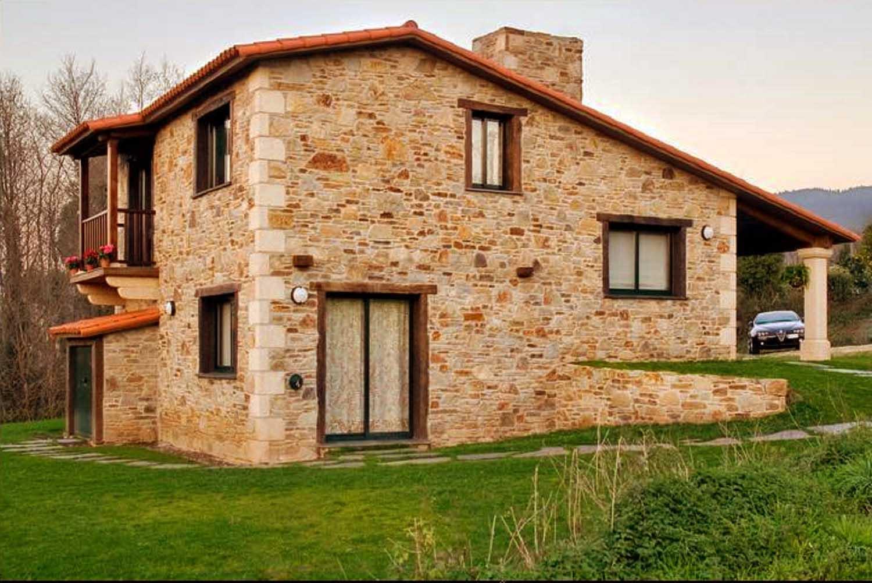 Construcciones r sticas gallegas dos niveles - Casas rusticas gallegas ...