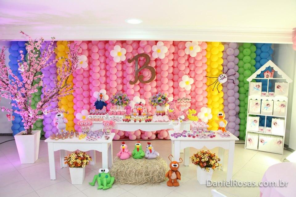 decoracao festa galinha pintadinha rosa:Rosa Galinha Pintadinha