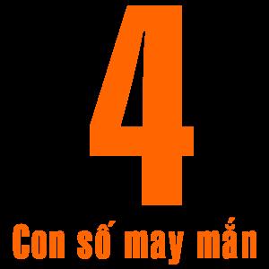 Ý nghĩa Số 4 - Con số may mắn của bạn