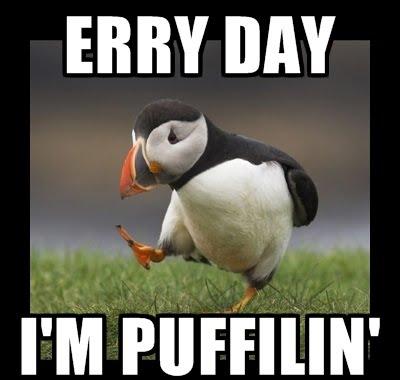 Everyday I'm Pufflin'