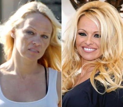 Pamela Anderson Tanpa Make Up