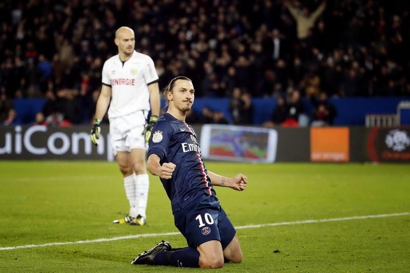 PSG Menang Tipis Atas Nantes 2-1