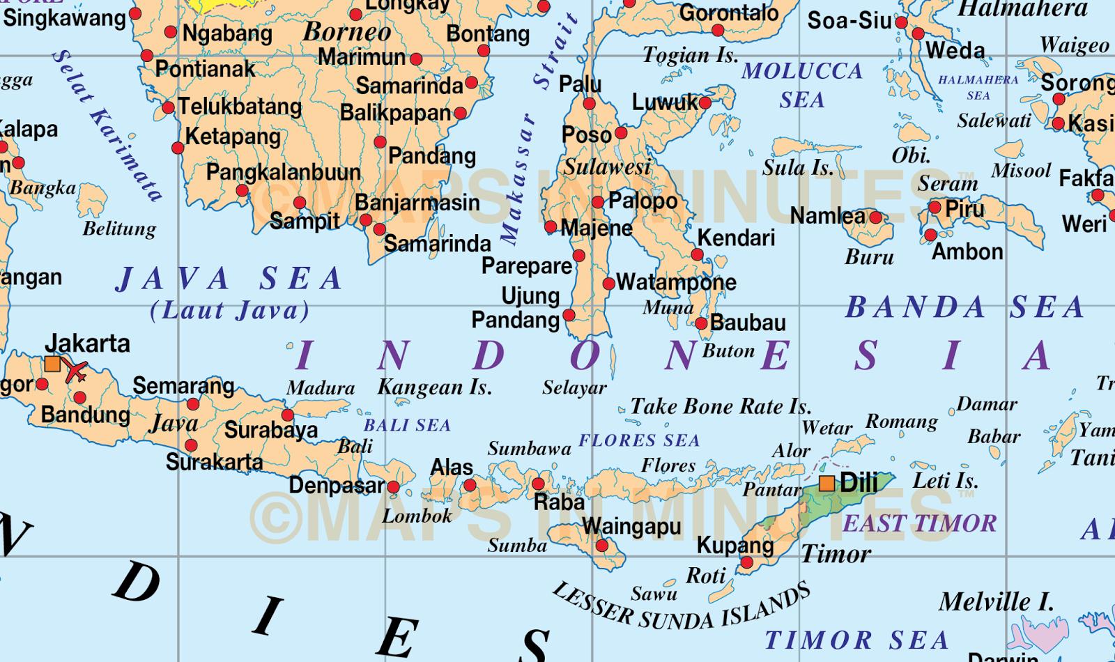 Gambar: Gambar Peta Indonesia Lengkap