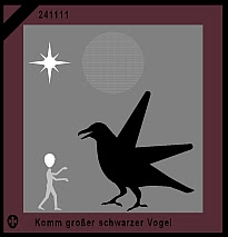 Komm groer schwarzer Vogel
