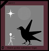 Komm großer schwarzer Vogel
