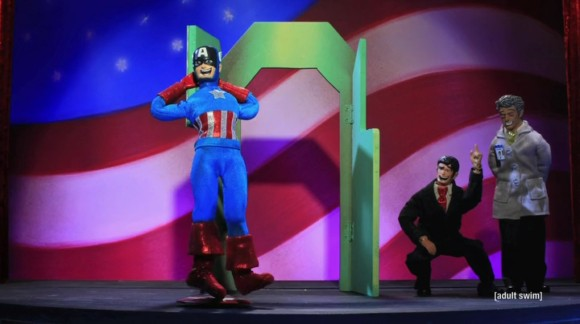 Superheroes and Broadway go together like Walter Matthau and Barbra Streisand. Ask your gay granddad.