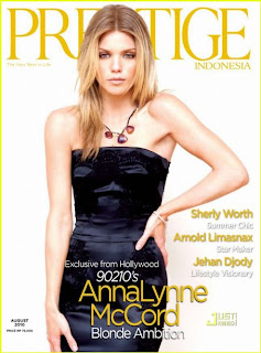 AnnaLynne McCord Magazine Cover Pictures