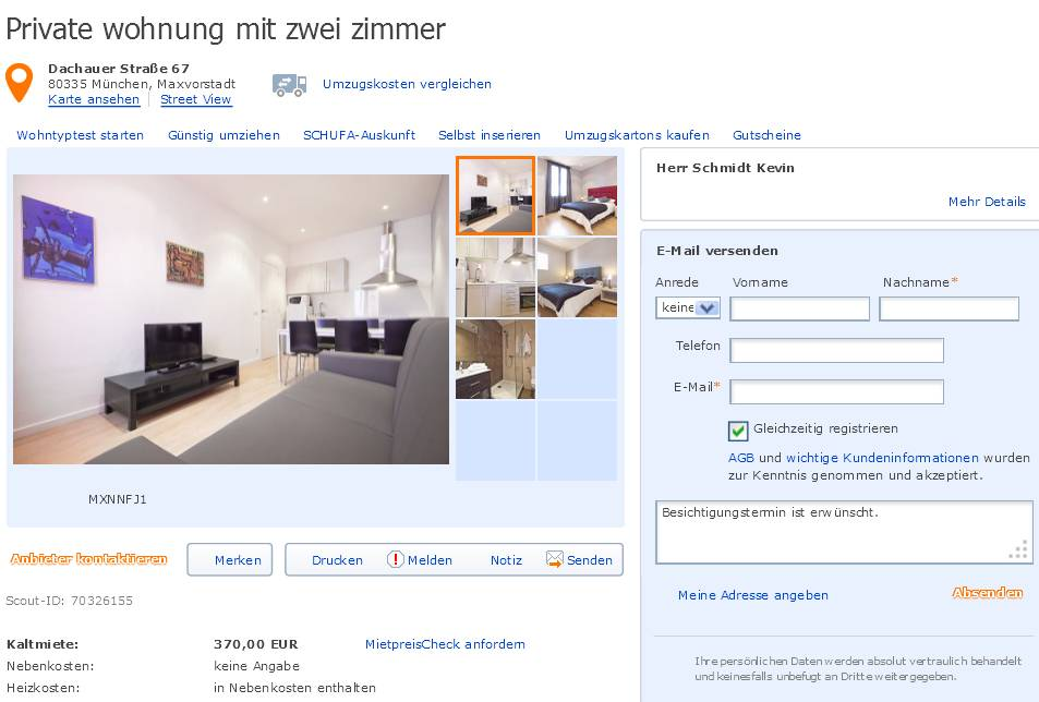 Wohnung In Recklinghausen