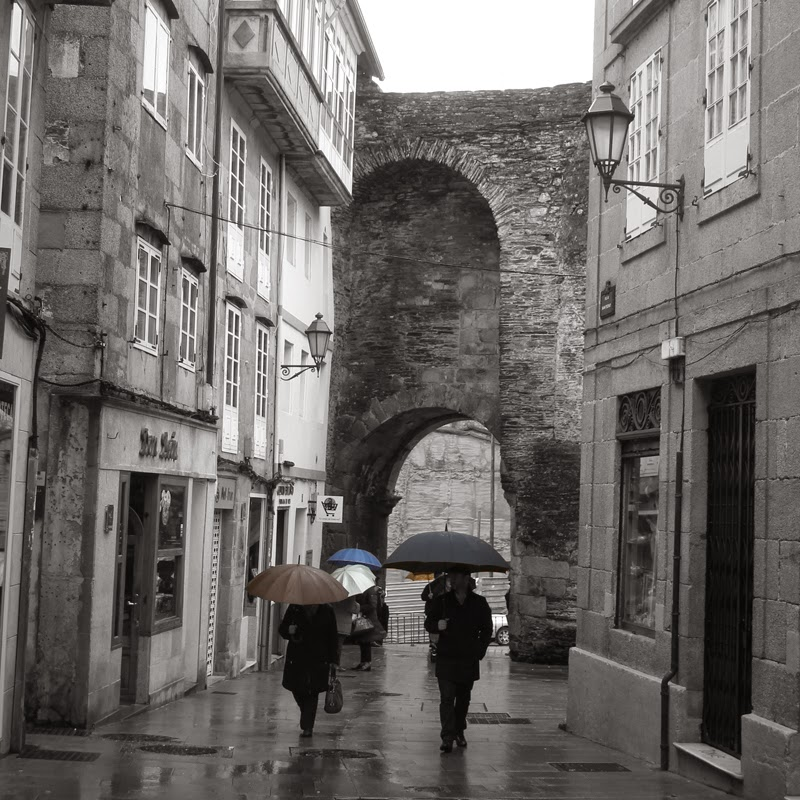 muralla romana de Lugo Galicia