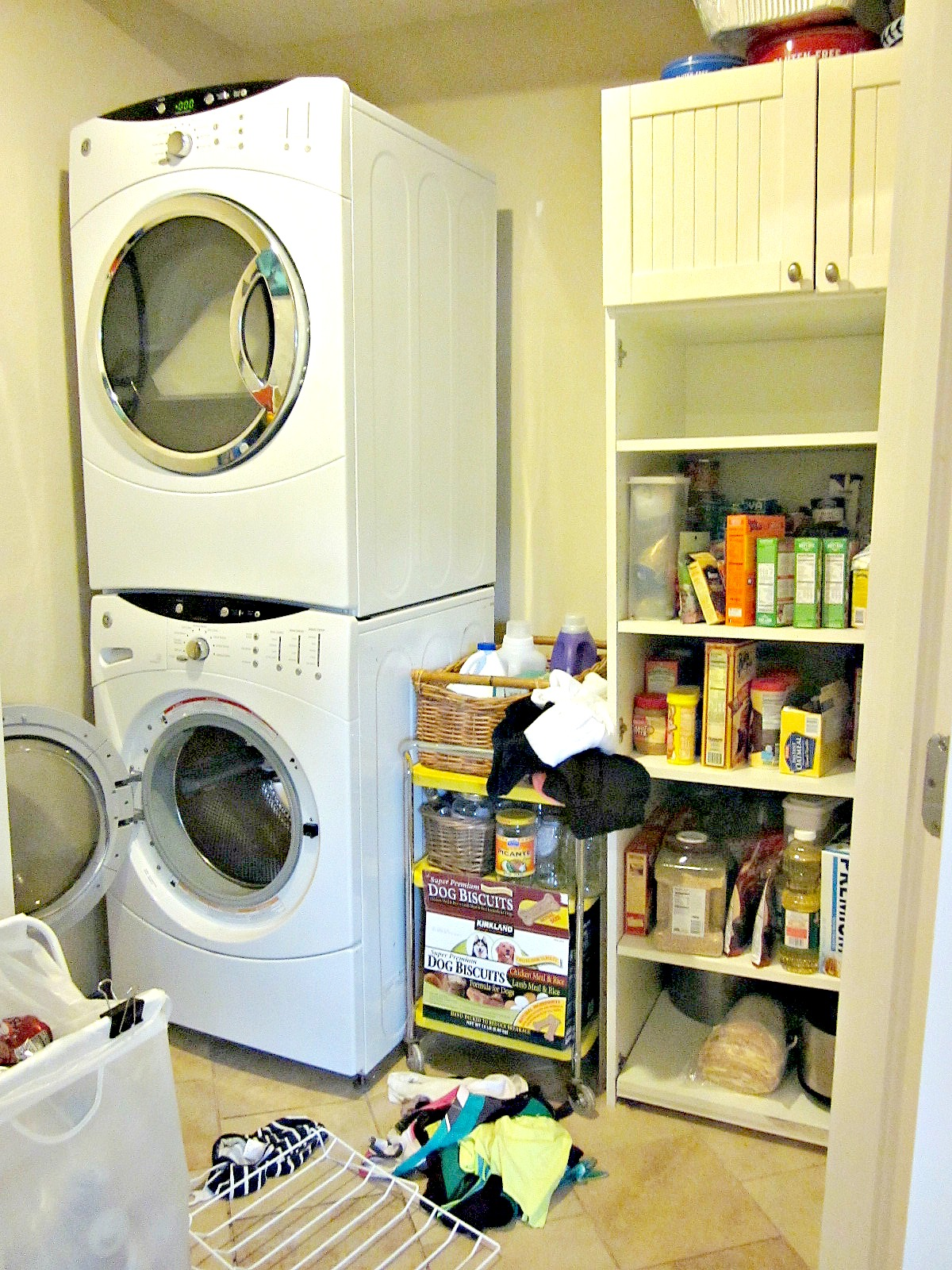 Nancy elizabeth at home at home today laundry for Laundry kitchen ideas