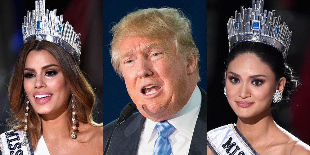 La réponse de Miss Mondial Alonzo Wurtzbach Piaille à Donald Trump