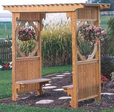 Arbor With Benches2