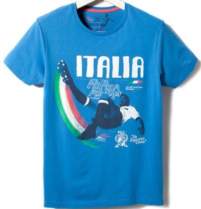 camisetas Eurocopa 2012 para hombre Pull & Bear