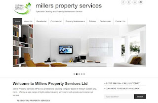 www.millerspropertyservices.com website design