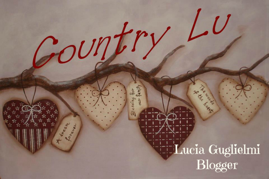 Preferenza ♥ Countrylu ♥: Country painting free patternVi presento la  GW74