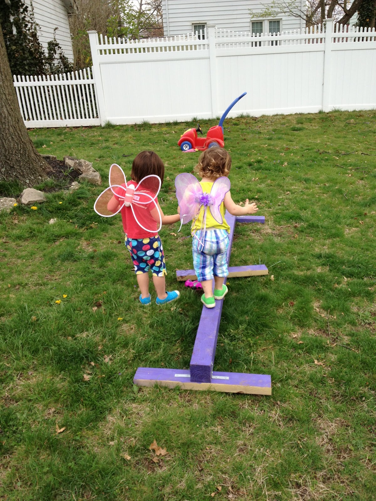 DIY Balance Beam The Chirping Moms