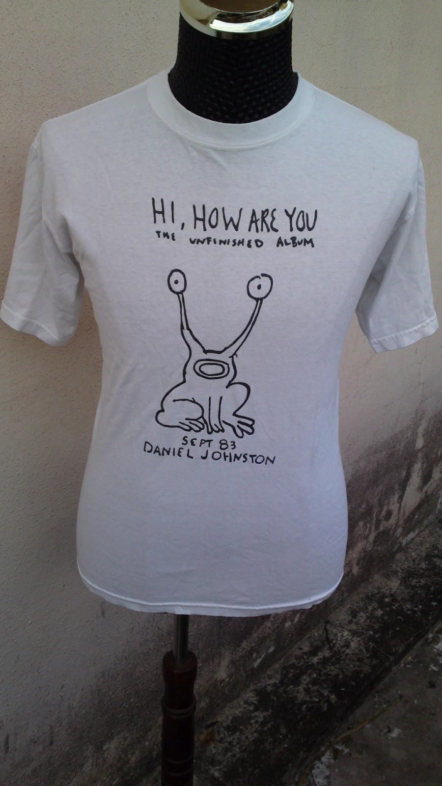 DOrayakEE Bundle Daniel Johnston By Kurt Cobain ShirtSOLD