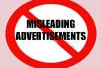 'Misleading Advertisements' in India