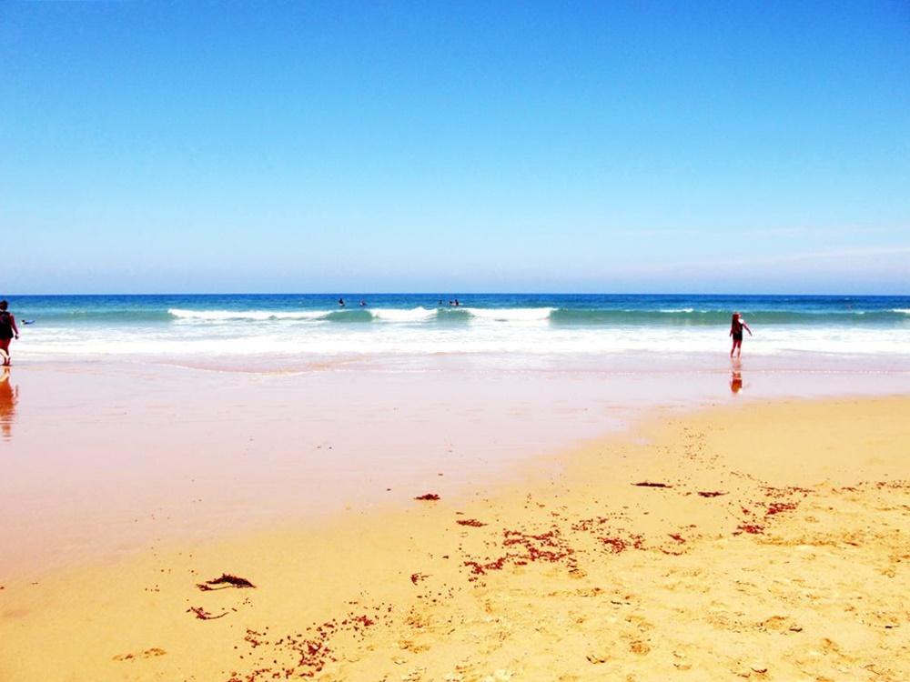 Jan Juc beach photo by susan wellington