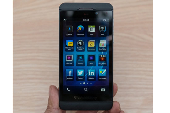 Latest Gadget Releases BlackBerry Z10 Full Touchscreen