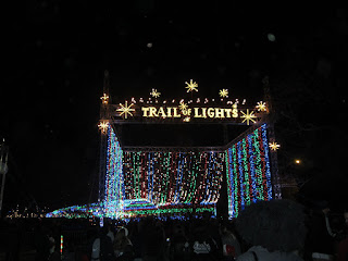 at the Austin Trail of Lights