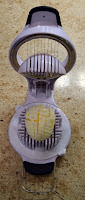 OXO egg slicer - indispensable!
