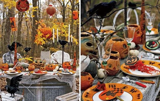 Los 10 Mejores Detalles para Decorar Mesas por Halloween