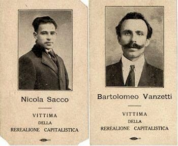 a history of the sacco vanzetti trial Disheartening as it was for so many of their supporters, the sacco-vanzetti case is one episode in a history of lethal judicial violence against radicals, sandwiched on a timeline between haymarket and the rosenbergs.