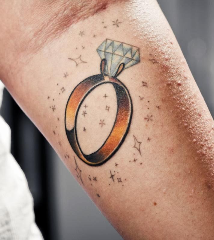ring tattoos. Black Bedroom Furniture Sets. Home Design Ideas