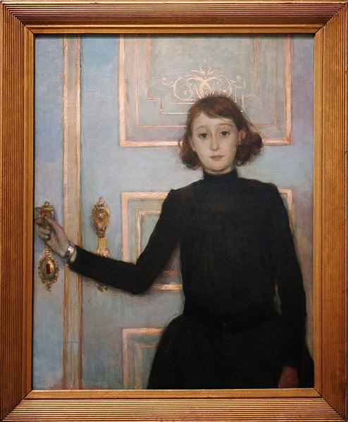 Portrait de Marguerite Van Mons de Théo Van Rysselberghe