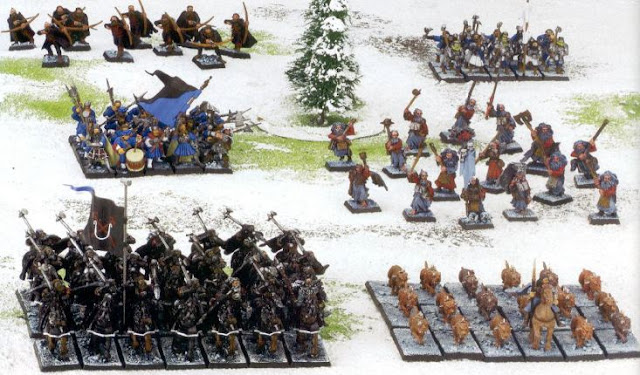 Ulric Army Painted Models