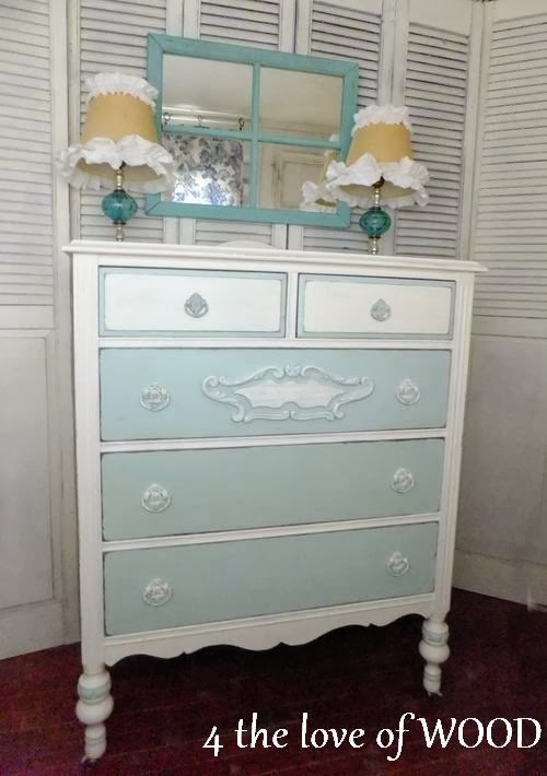 4 the love of wood how to paint a two color dresser