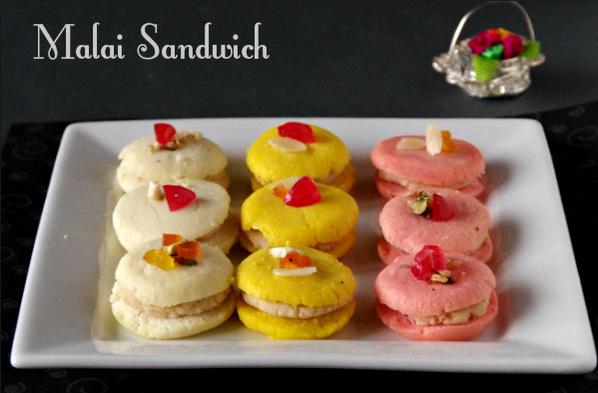 Malaai Sandwich Kaise Banaayen