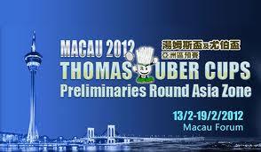 Jadwal Pertandingan Thomas & Uber Cup 2012 Zona Asia MNCTV