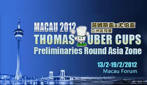 thomas uber cup 2012,thomas dan uber cup 2012,Jadwal Thomas Uber Cup 2012