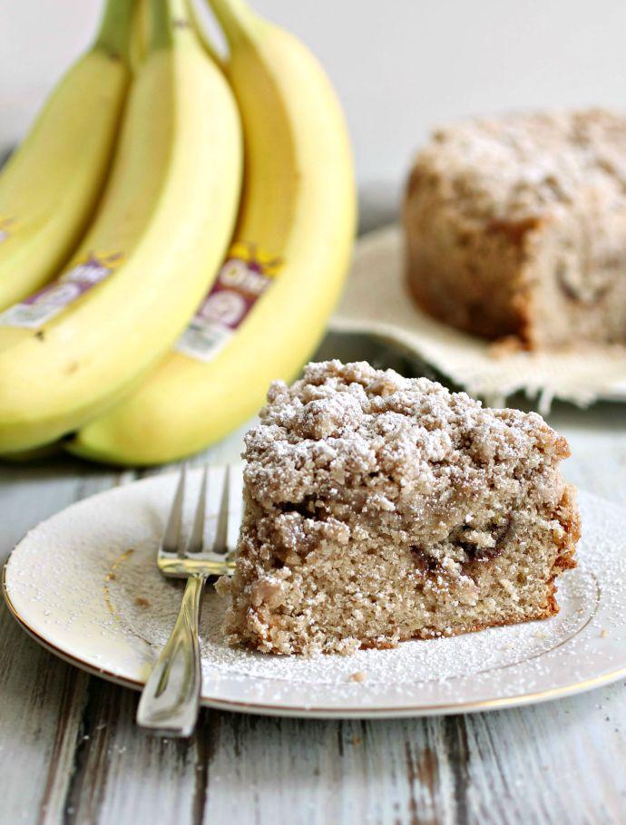 Spiced Banana Crumb Cake