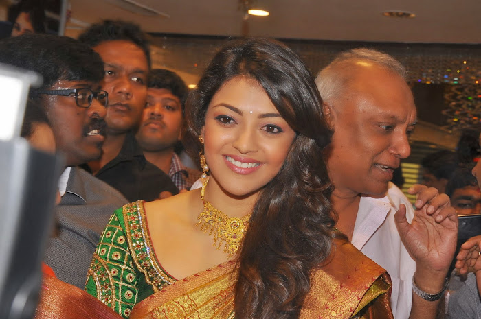 kajal agarwal launches chennai shopping mall unseen pics