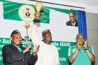 2018 World Cup Qualifier: Fashola to represent Buhari in Uyo