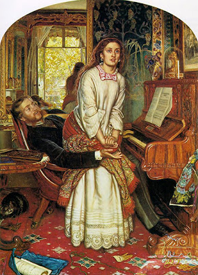 William Holman Hunt - the awakening conscience 1853