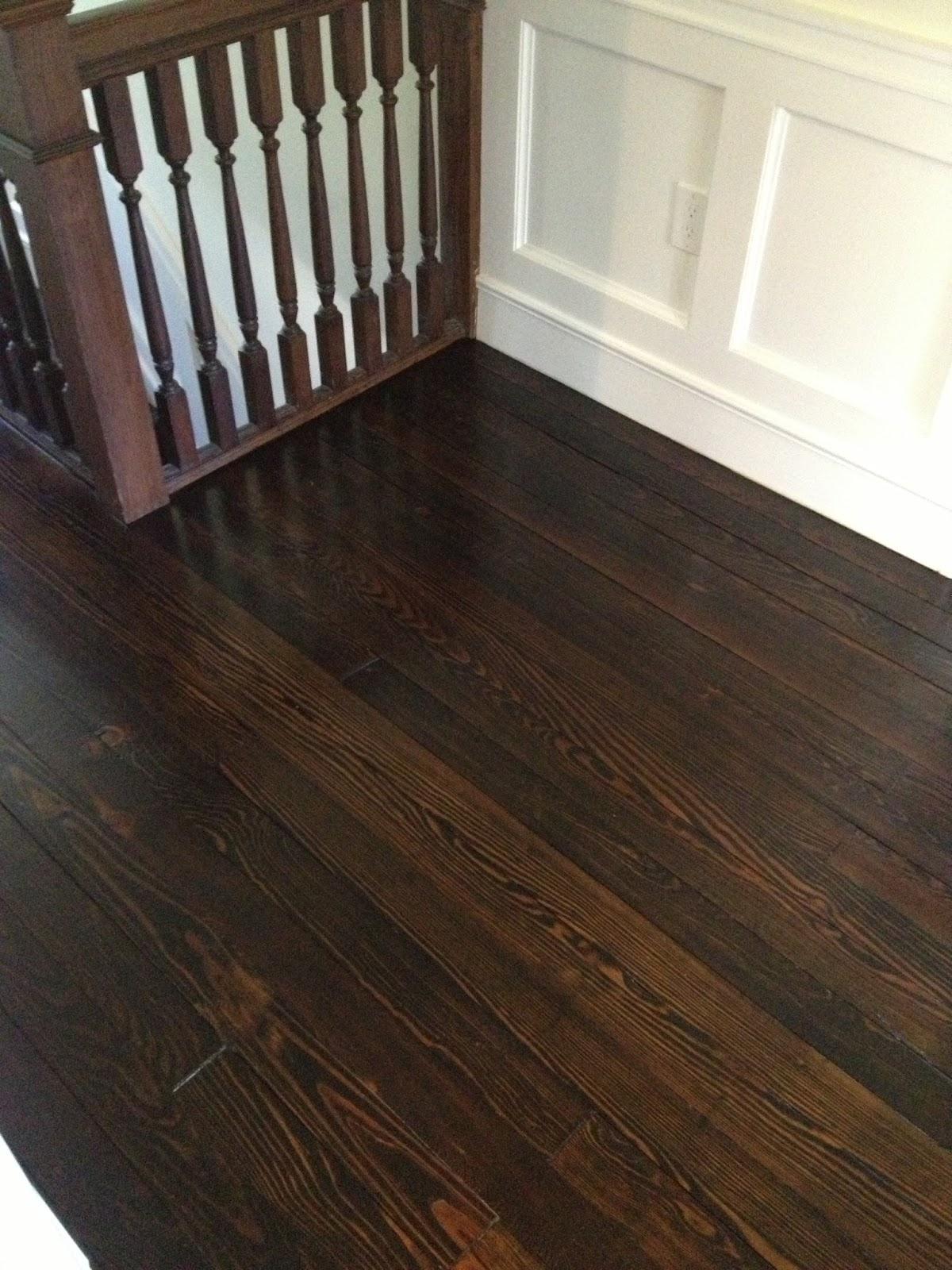 High street market 3rd floor refinished hardwood floor diy for Hardwood floors jacobean