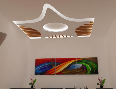 Very attractive modern design of Fall Ceiling Designs