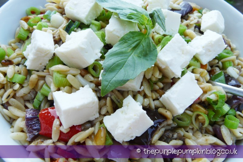 Roasted Vegetable & Orzo Salad » The Purple Pumpkin Blog