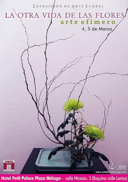 Exposición Arte Floral: Ikebana Arte Zen