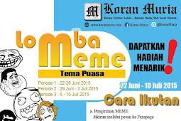 Lomba Meme 2015 Berhadiah Menarik, Ikut Yuk..