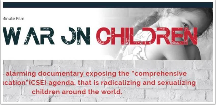'The War On Children' (Family Watch International)(Film)