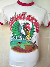 Vintage Rolling Stones Europe Tour 1982